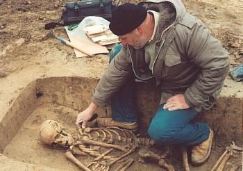 Miroslav Šmíd - šéf týmu brněnského archeologického ústavu